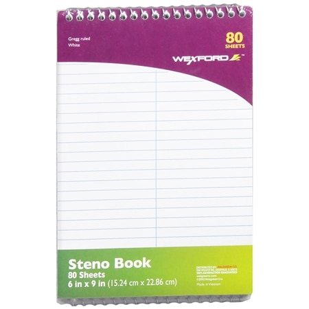 Wexford Steno Book 2 Pack