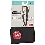 No Nonsense Great Shapes Shaping Tight Size MM Black