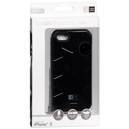 Case Logic Durable Protective iPhone 5 Case Black