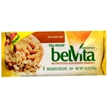 belVita Breakfast Biscuits 4 Pack Golden Oat