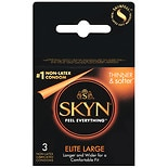 Skyn Non-Latex Lubricated Condoms Large