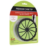 JUVO Standing Cane Tip Green