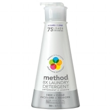 method 8X Laundry Detergent Free + Clear