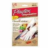 Playtex CleanCuisine Disposable Gloves Large