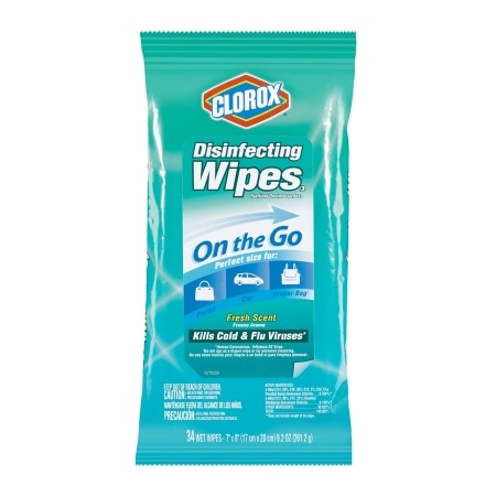 Clorox Disinfecting Wipes To Go Fresh Scent