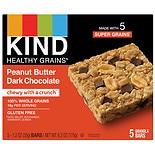 KIND Healthy Grains Bars Peanut Butter Dark Chocolate