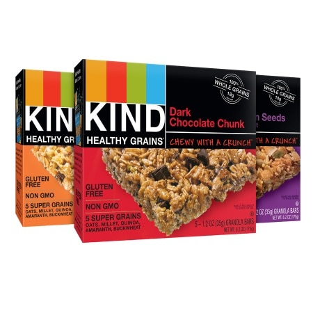 KIND Healthy Grains Granola Bars Variety Pack,3 Pack