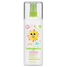 Babyganics Cover-Up Baby Sunscreen Spray, SPF 50