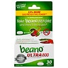 Beano Food Enzyme Dietary Supplement Tablets