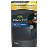 Depend Real Fit for Men Briefs Maximum Absorbency Gray S/M