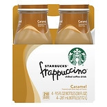 Starbucks Coffee Frappuccino Chilled Coffee Drink 4 Pack 9.5 oz Bottles Caramel