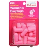 Walgreens Women's Earplugs Pink