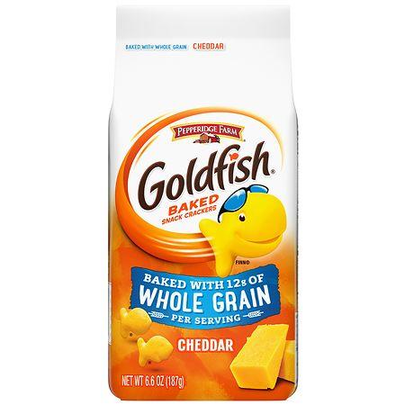 Pepperidge Farm Goldfish Crackers Whole Grain | Walgreens