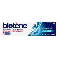 Biotene Dry Mouth Fluoride Toothpaste Fresh Mint