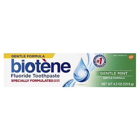 Biotene Dry Mouth Fluoride Toothpaste Gentle Mint
