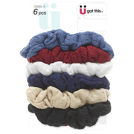 Scunci Effortless Beauty Scrunchies Assorted