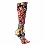 Celeste Stein Bvogue 8-15 mmhg Compression Sock Black