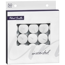 Walgreens Tealights Unscented