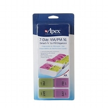 Apex Detach N' Go Pill Organizer 7-Day AM/PM XL