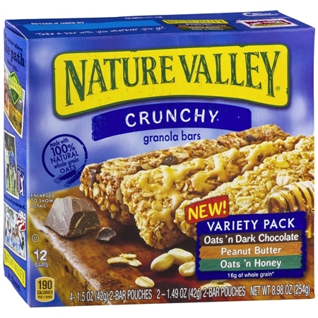 Nature Valley Crunchy Granola Bars 12 Pack Oats 'n Dark Chocolate