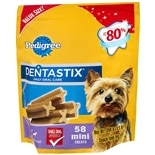Pedigree Dentastix Daily Oral Care Treats for Dogs 58 Pack Small
