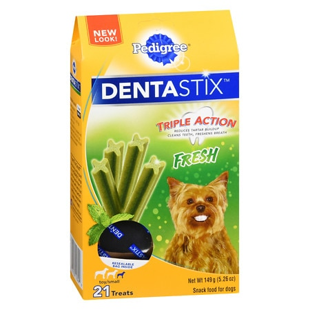 Pedigree Dog Treats Fresh,Toy/Small Green