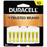 Duracell Hearing Aid Zinc Air Batteries 10
