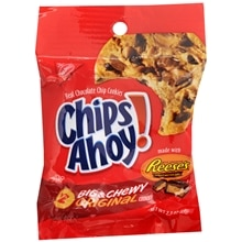 Nabisco Chips Ahoy! Real Chocolate Chip Cookies 2 Pack Peanut Butter Cup