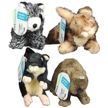 Walgreens Squeaky Critters Dog Toy Assorted