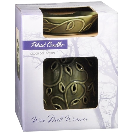 Patriot Candles Decor Collection Wax Melt Warmer Green