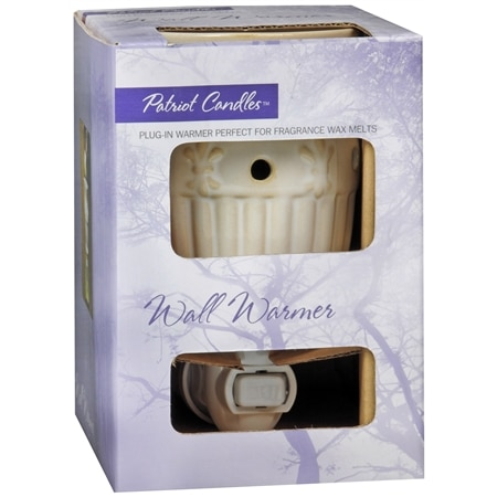 Patriot Candles Wall Warmer White