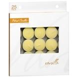 Patriot Candles Tealight Candles Vanilla Yellow