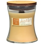 Patriot Candles Wood Lights Jar Candle Patchouli Woods Beige