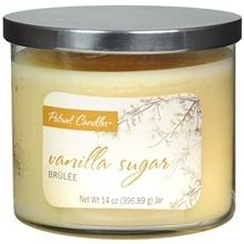 Patriot Candles Jar Candle Vanilla Sugar Yellow
