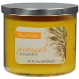 Patriot Candles Jar Candle Pineapple & Cilantro Yellow