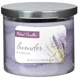 Patriot Candles Jar Candle Lavender & Vanilla Purple
