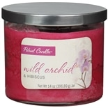 Patriot Candles Jar Candle Orchid & Hibiscus Red