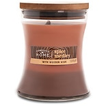Patriot Candles Wood Lights Jar Candle Spice Medley Light Brown/Dark Red/Brown