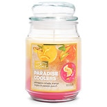 Patriot Candles Jar Candle Paradise Coolers Yellow/Orange/Pink