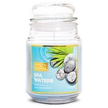 Patriot Candles Jar Candle Spa Waters Blue