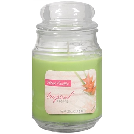 Patriot Candles Jar Candle Tropical Escape Green