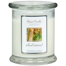 Patriot Sheer Scents Jar Candle Coconut White