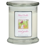 Patriot Sheer Scents Jar Candle Secret Garden White