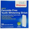 Walgreens Peroxide-Free Tooth-Whitening Strips Kit