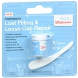 Walgreens Temporary Lost Filling & Loose Cap Repair