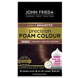 John Frieda Precision Foam Colour Permanent Hair Colour Kit Chestnut Brown