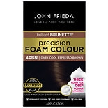 John Frieda Salon Blends Precision Foam Permanent Hair Colour Kit Espresso Brown