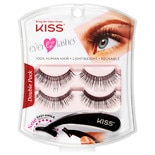 Kiss Ever EZ Lashes 01 Black