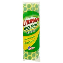 Libman Nitty Gritty Roller Mop Refill Green/Yellow