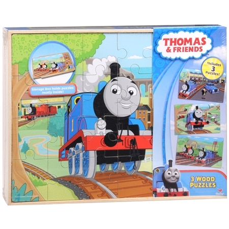 Licensed Cartoons Wood Puzzles